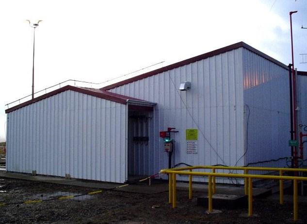 Ampliación sala de control en la planta de Total Austral en Río Cullen
