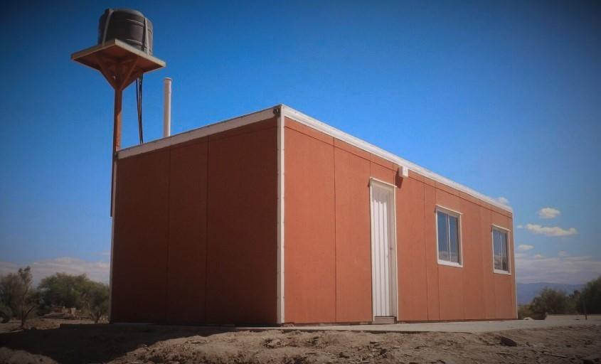Módulos habitacionales. Ministerio de Desarrollo Humano y Promoción Social de San Juan.