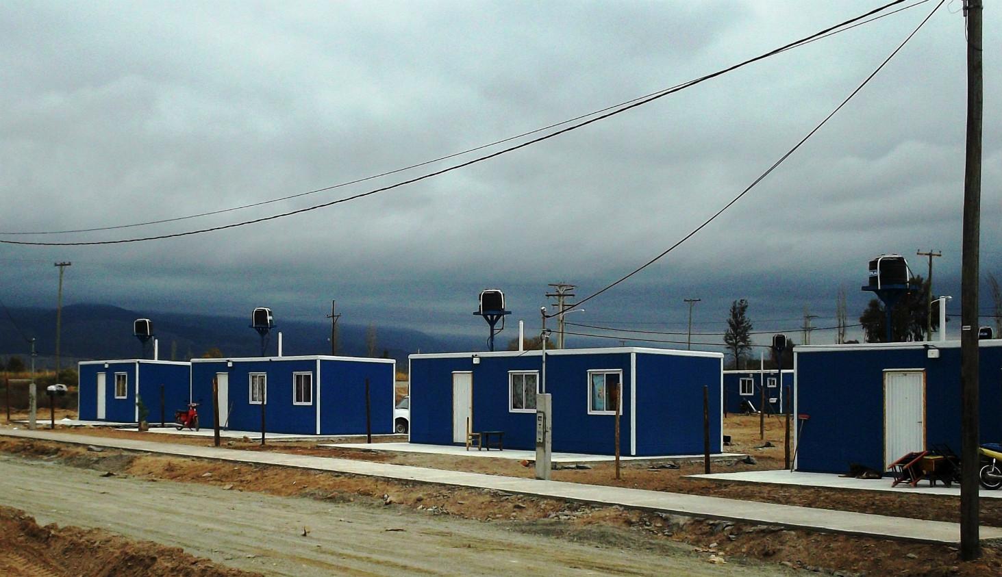 Construcción y montaje de 180 módulos habitacionales, M de DH San Juan
