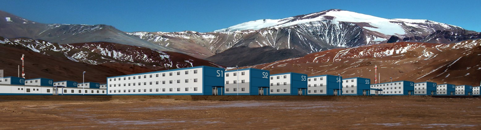 Ingeniería para Campamento de construcción de Pascua Lama