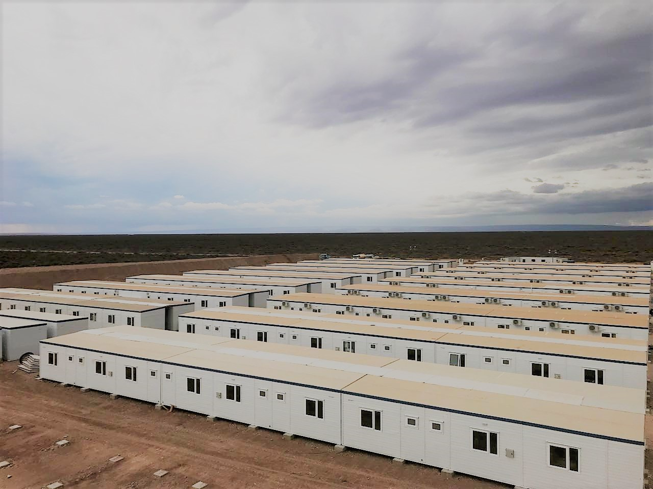 Campamento Tecpetrol en Fortín de Piedra