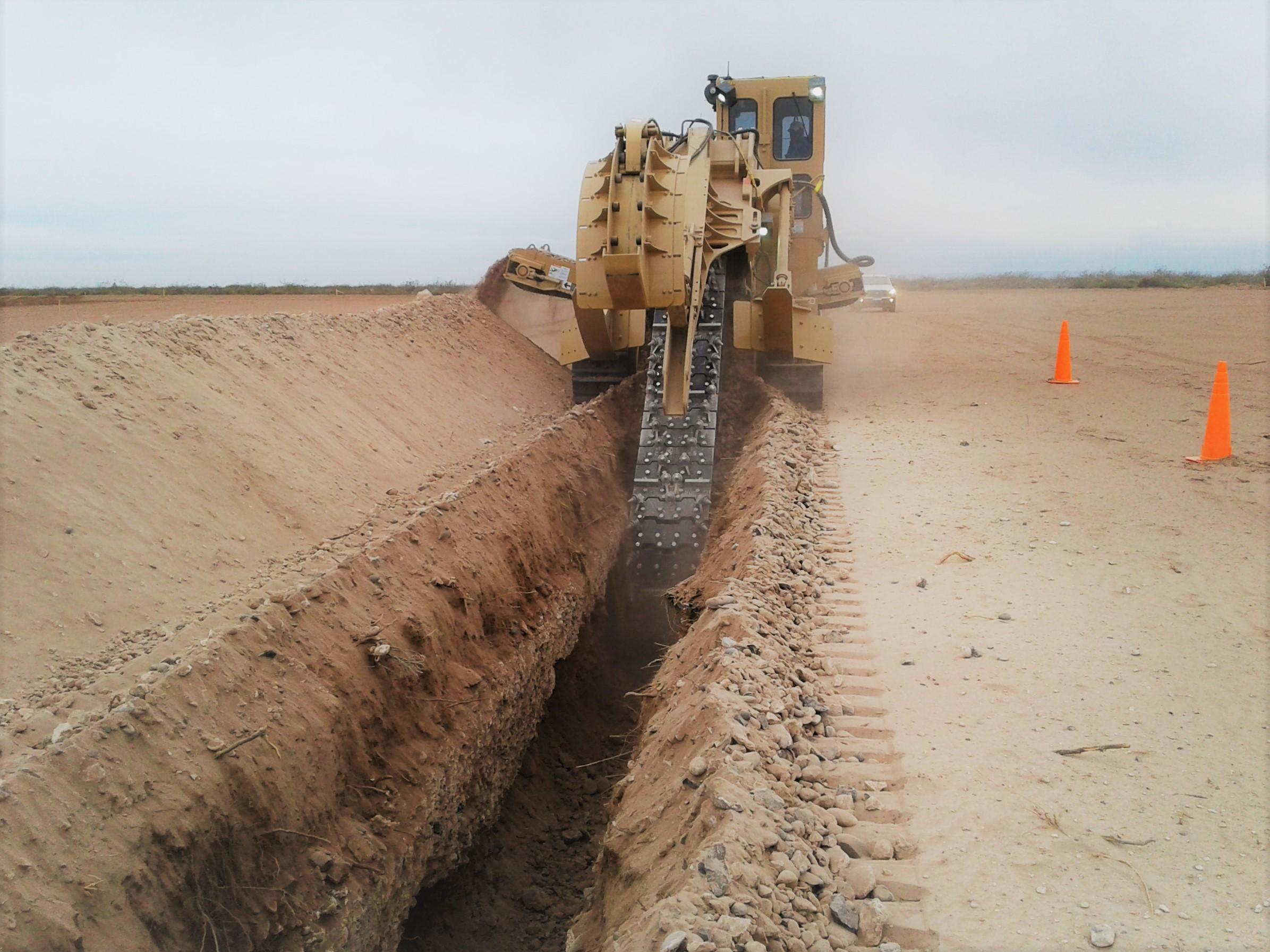 Redes de servicios en Proyecto Fortín de Piedra.