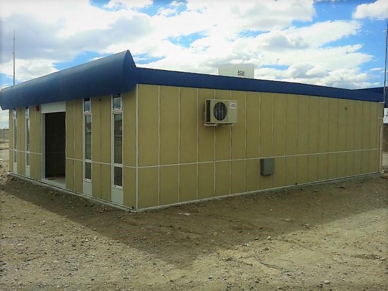 Provisión de oficinas transportables, Proyecto La Itala de YPF