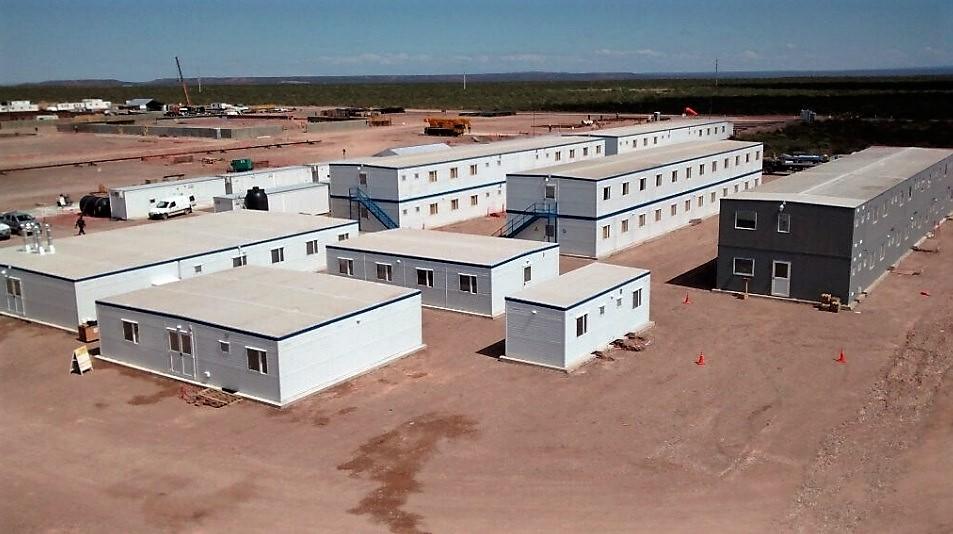 Aesa: Campamento para 250 personas para Planta de Tratamiento de Crudo no Convencional